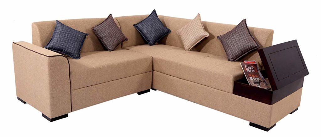 11 Amazing L Shaped Sofa Designs For Living Rooms In India